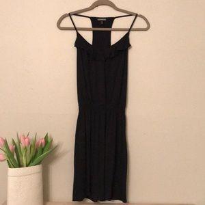Express Black Razorback Dress